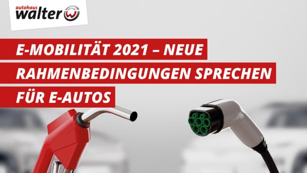 Überblick Elektromobilität 2021