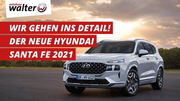 Hyundai Santa Fe Facelift 2021